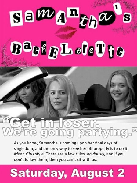 How to Throw Your Own Mean Girls Bachelorette Party Thats So Fetch