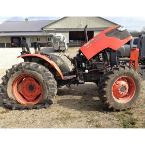 Kubota L2650 tractor salvaged for used parts. Call 877-530-4430 ...