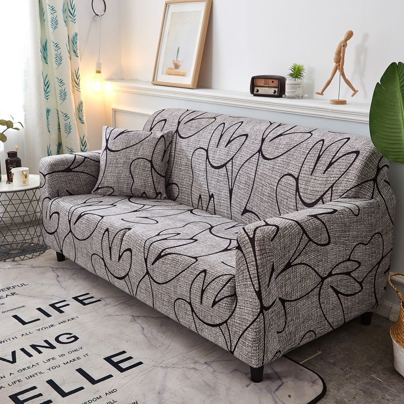 Sofa Cover Slipcovers Elastic Couch Case for Different