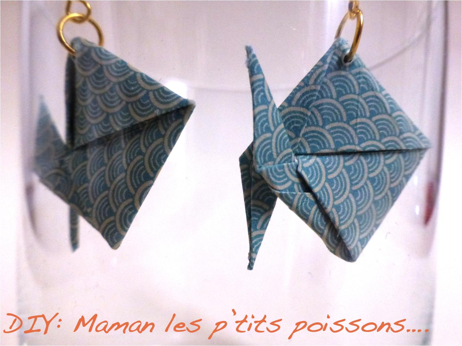 tutoriel origami poisson