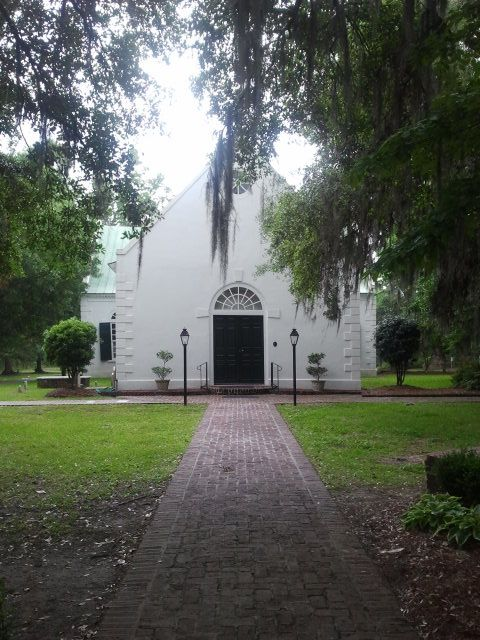 Old St. Andrew's Church, Ashley River Road, Charleston, South Carolina - where the Story and Ellis families worshiped in the 1700s. Read all about my adventures finding this place/getting here in my genealogy blog!