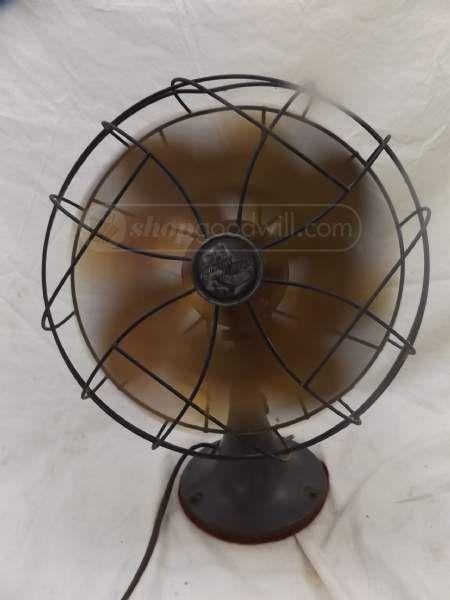 Vintage Emerson Electric Desk Fan Type 6250 D Desk Fan Emerson Electric Electric Desk