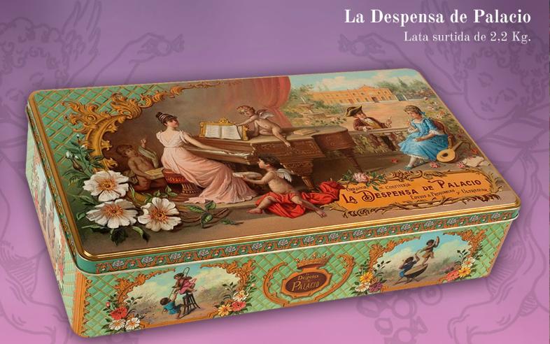 Caja de 2,2 kilos de la Despensa de Palacio en Cosas de Malú, Dénia