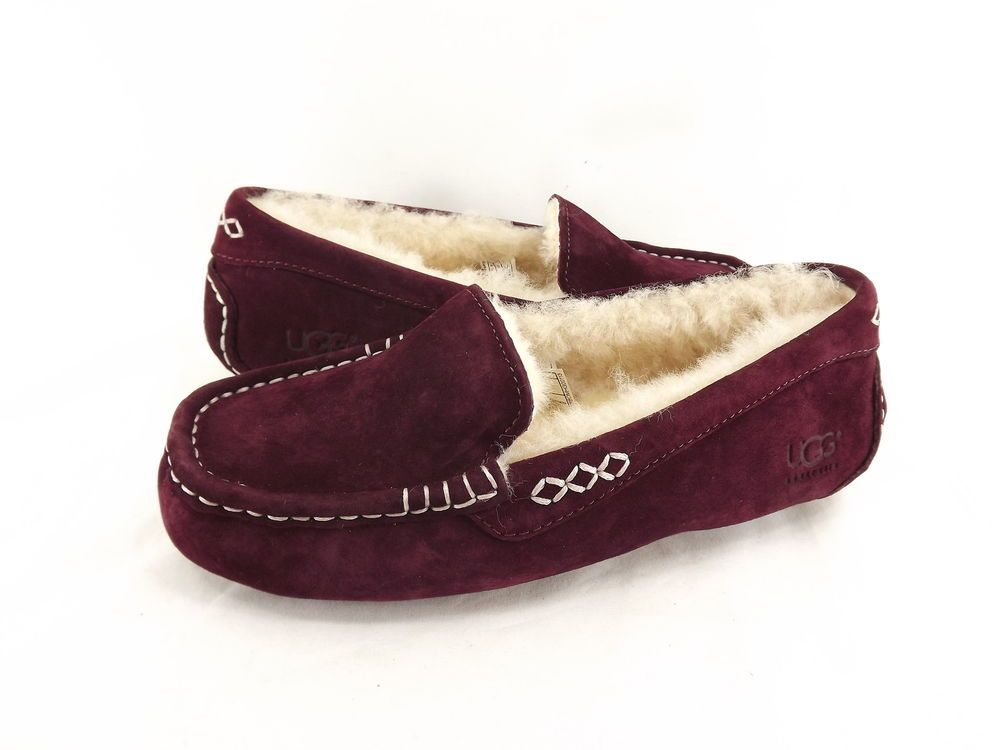 19fde669e34 Details about Women's Shoes UGG Ansley Moccasin Slippers 3312 ...