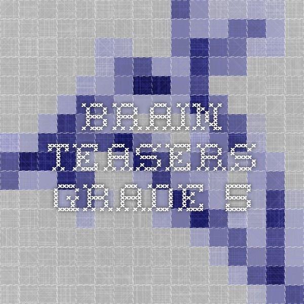 Brain Teasers Grade 5