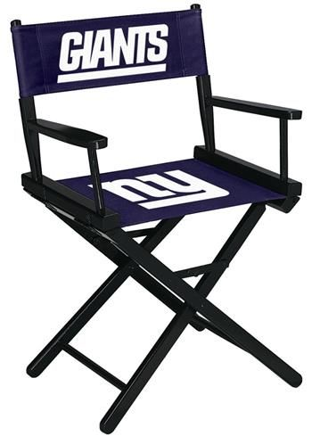 Use this Exclusive coupon code: PINFIVE to receive an additional 5% off the New York Giants Director's Chair - Table Height at SportsFansPlus.com