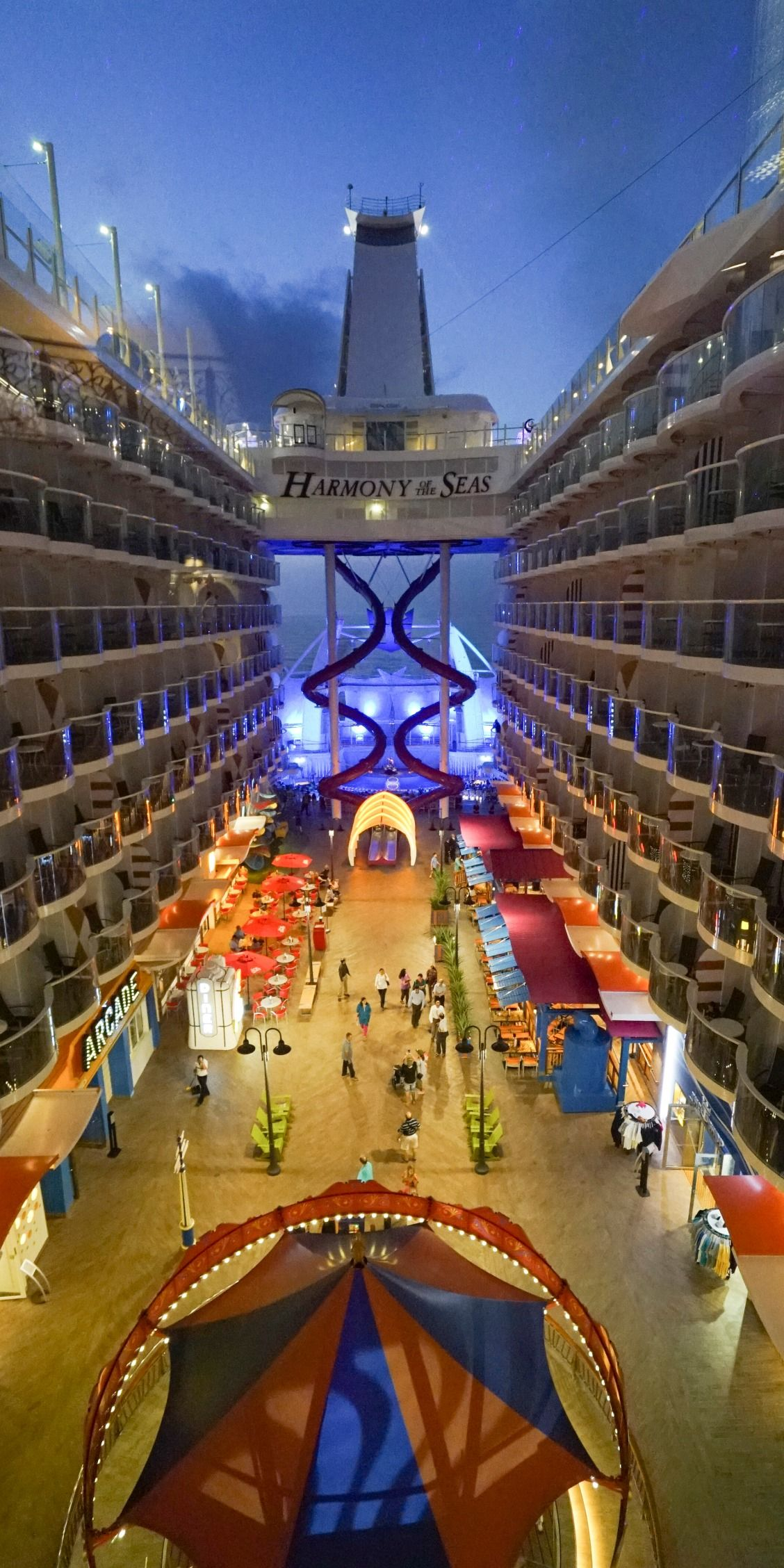 Harmony Of The Seas A Night Out Is Better On The Ocean Cruise With Royal Caribbean Onboard Harmony Of Royal Caribbean Ships Harmony Of The Seas Cruise Ship
