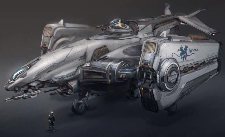 Conceptual spaceships of the future (photos) 96