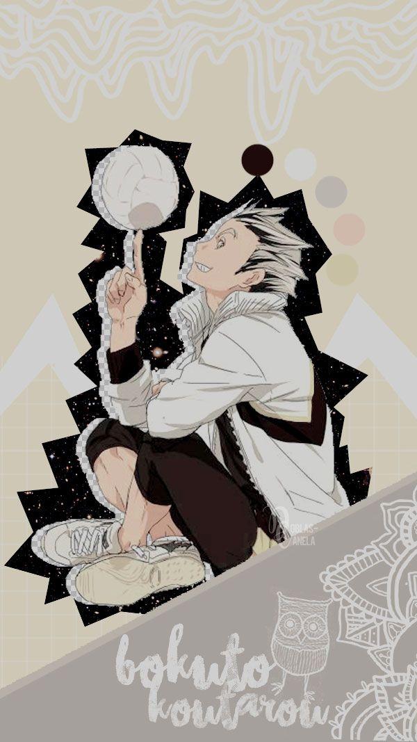 anime wallpaper haikyuu bokuto