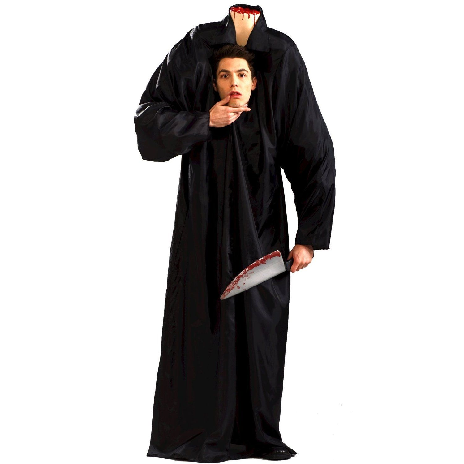 amazoncom headless man adult halloween costume size standard clothing - Amazon Halloween Costumes Men