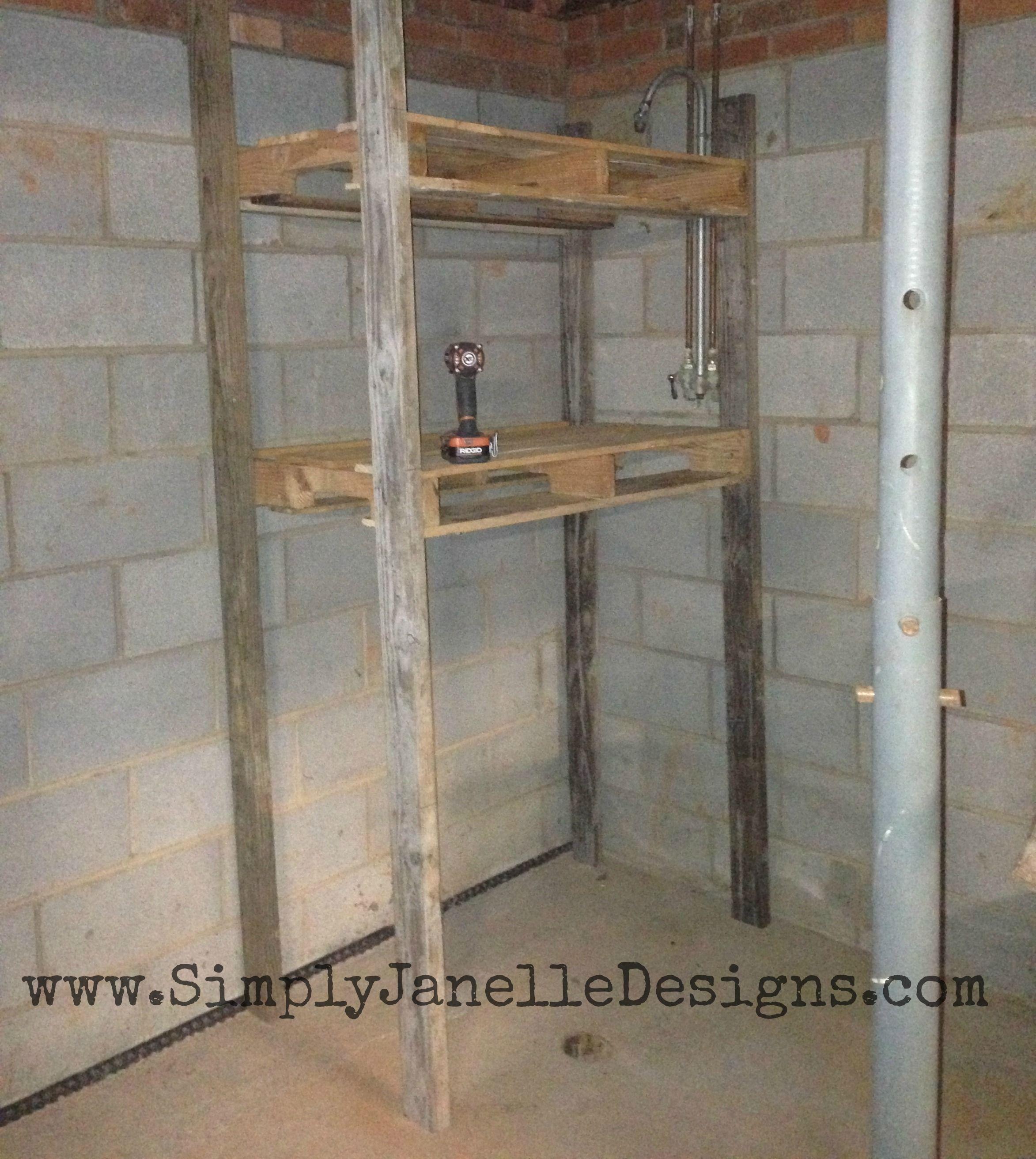 Simply Janelle Designs Basement First Shelf
