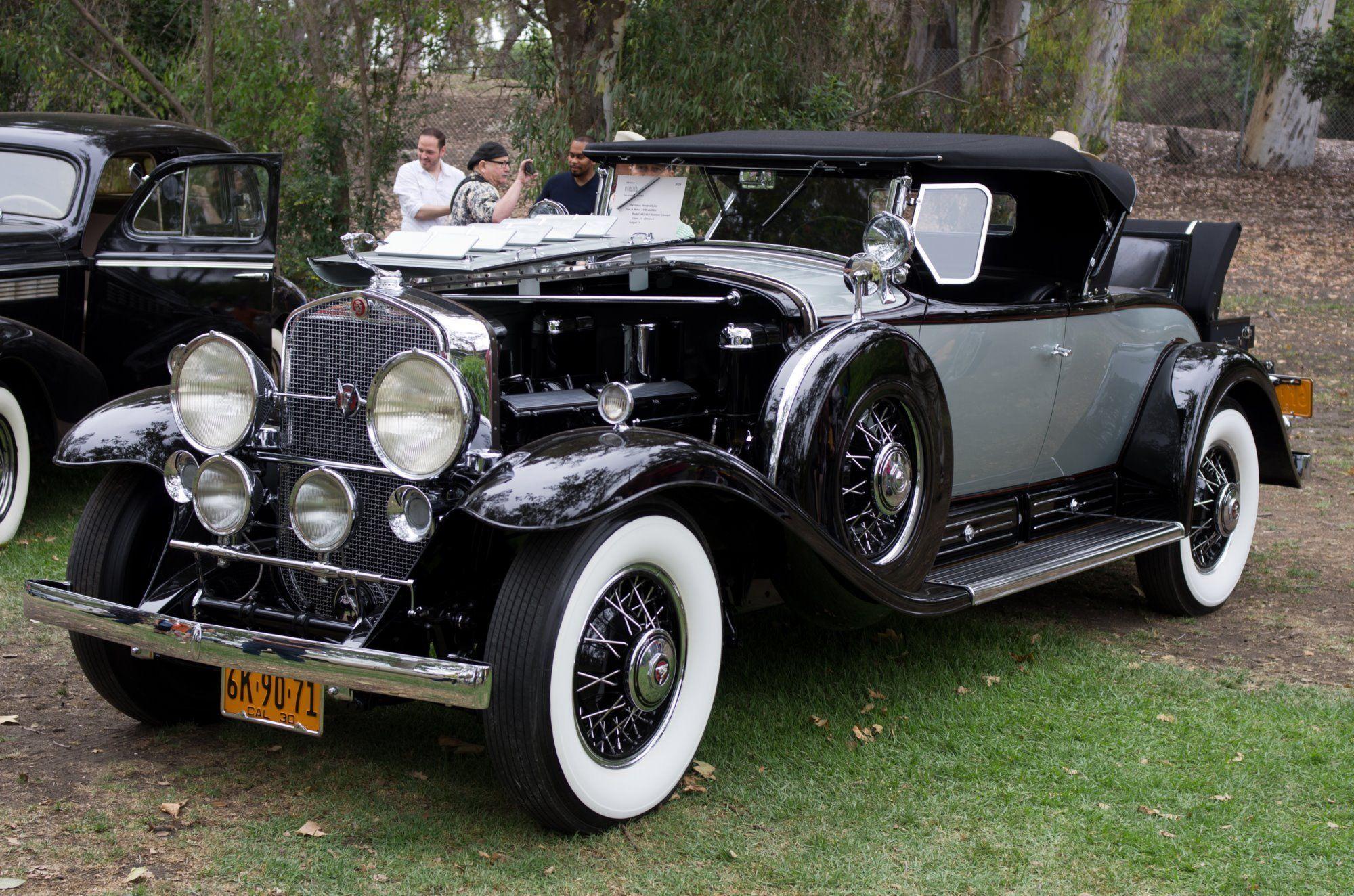 1930 Cadillac 452 V16 Roadster | Cars - Old Classics | Pinterest ...