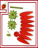 РАЗВИТИЕ РЕБЕНКА: Фрукты из бумаги | Бумажный цветок, Идеи ...