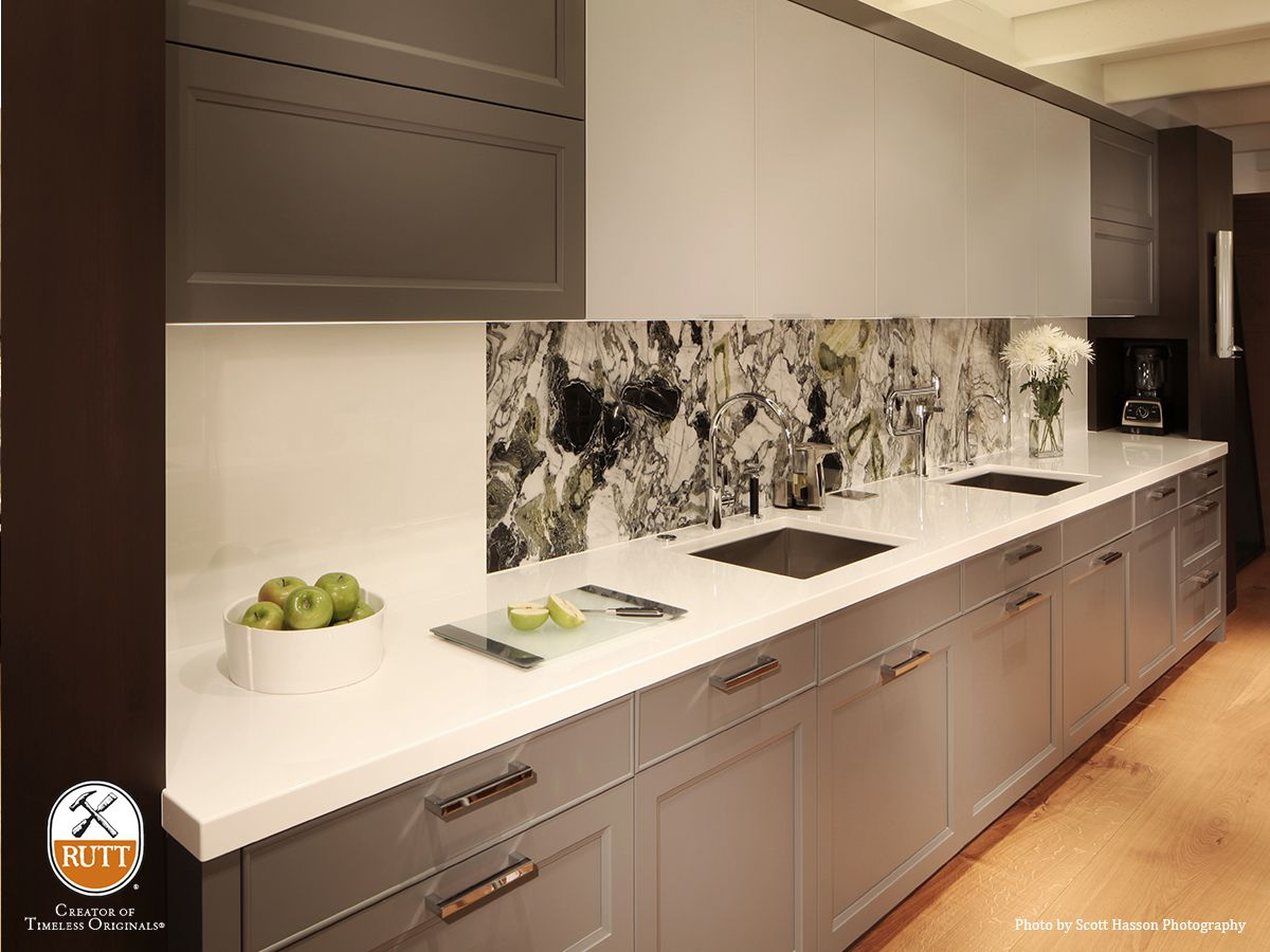 Rutt HandCrafted Cabinetry » Pacifica Galley Kitchen