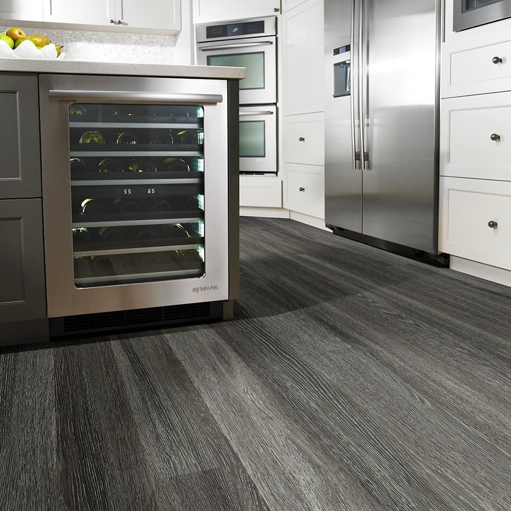Waterproof Kitchen Flooring Mojave 6 In X 48 In St George Repel Waterproof Vinyl Plank