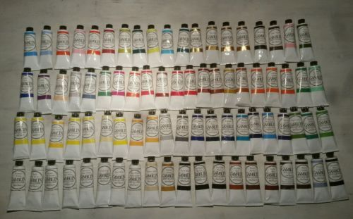 NEW Lot Set 81 37ml Gamblin Artist's Oil Colors Paint  Series 1 2 3 4 5 6 https://t.co/ApAjKfKgly https://t.co/ImrIGVXOu8