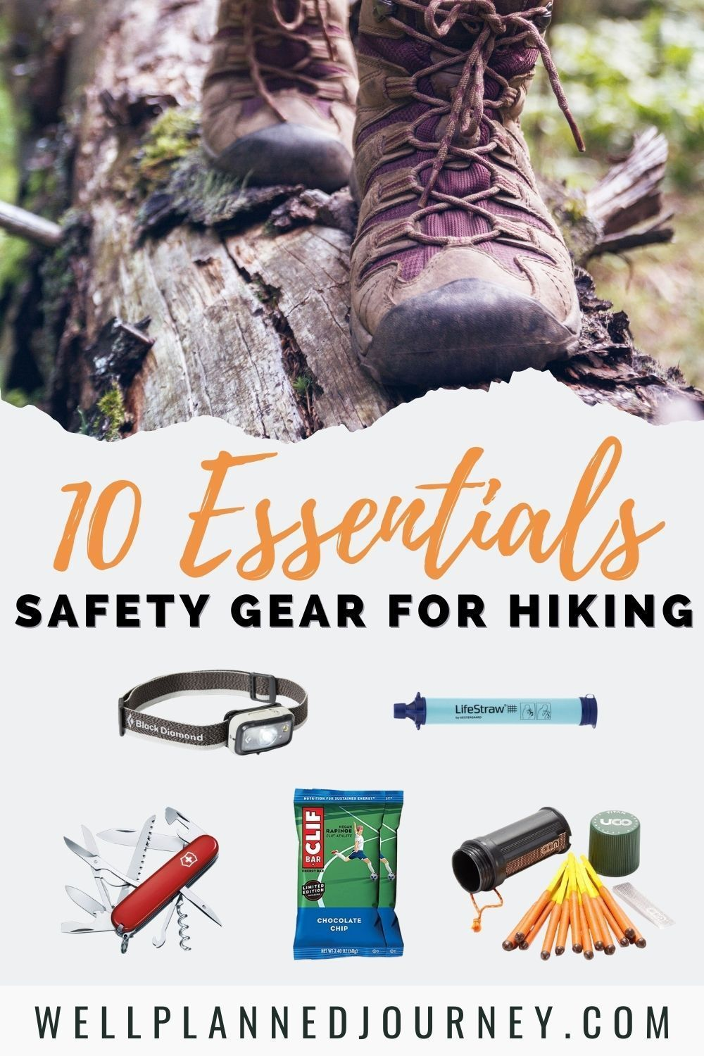 10 Essentials for Every Hiking Day Trip