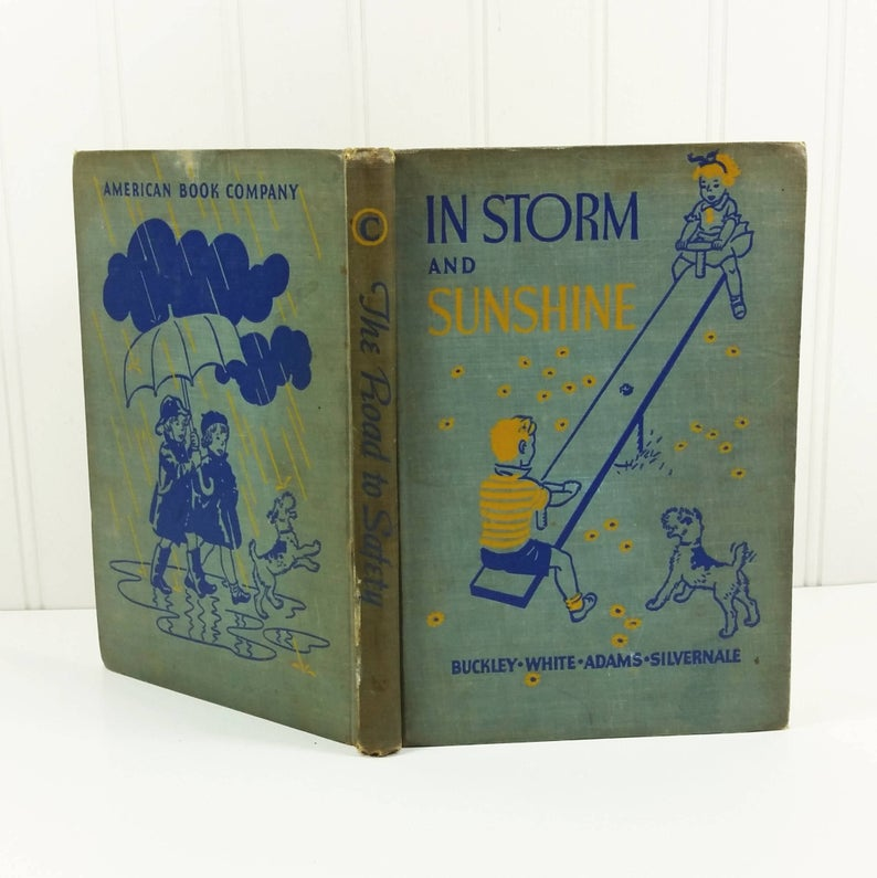 Elementary School Reader, In Storm and Sunshine, 1938 The