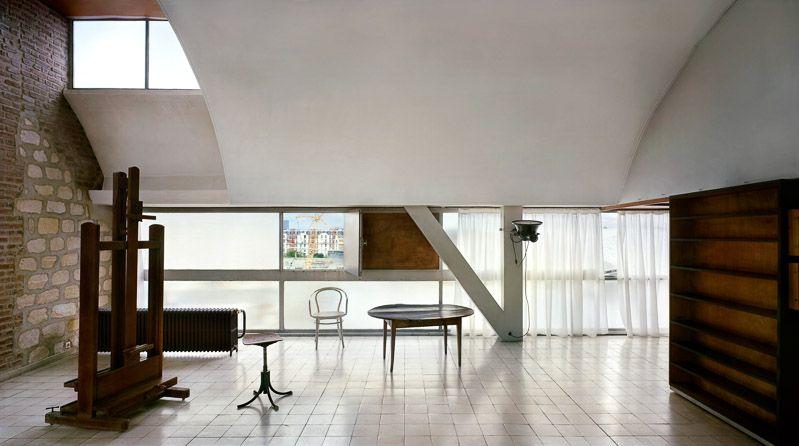 Acidadebranca Themanjournal Le Corbusier S Studio Paris 1931 34 1931 1934 Le Corbusier Immeuble Molitor Paris France Pared Drag