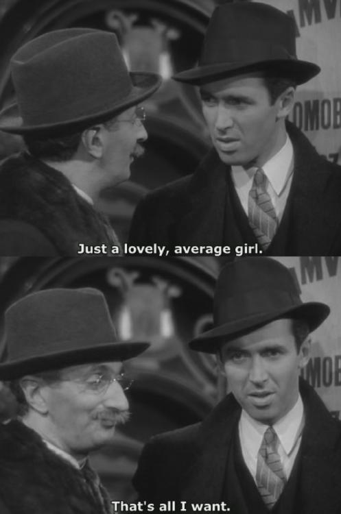 """Jimmy Stewart in """"The Shop Around the Corner"""" 1940"""