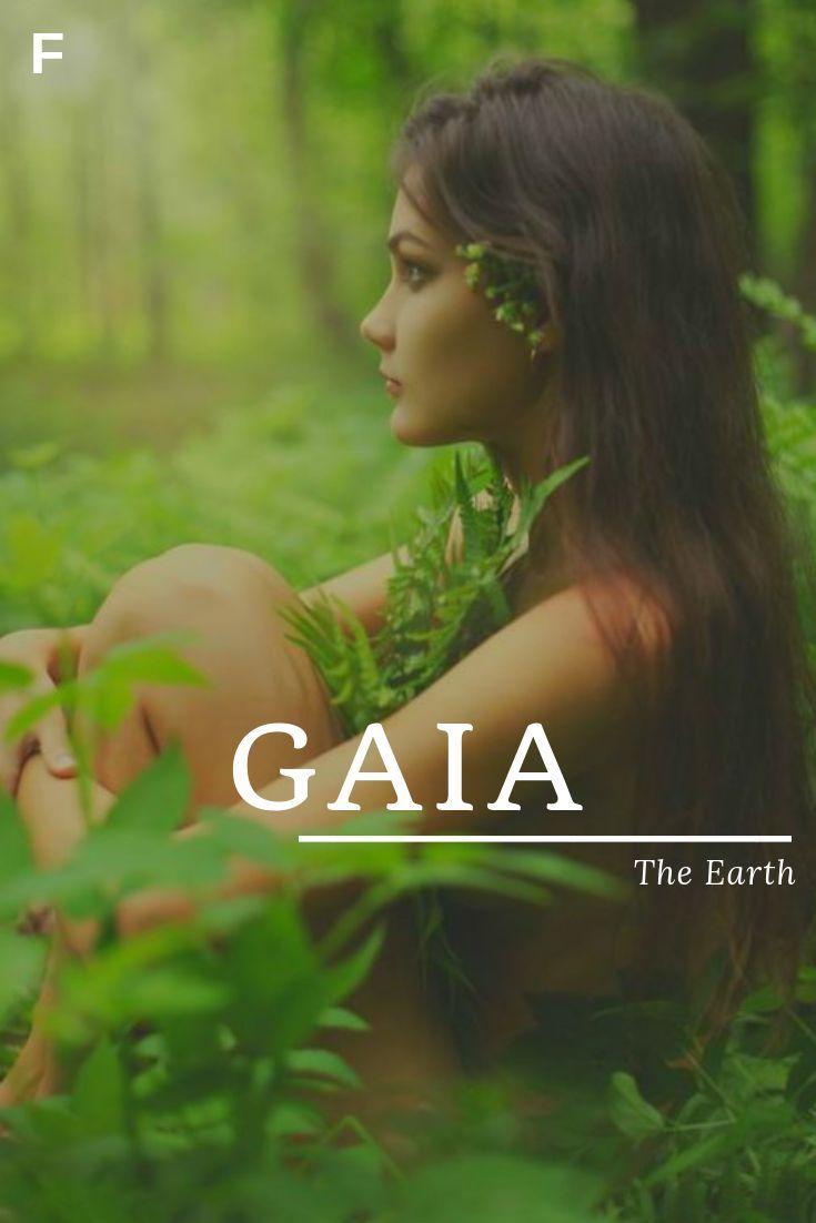 Gaia bedeutet die Erde, griechische Namen, G Babynamen, G Babynamen, weiblich ... #babynames