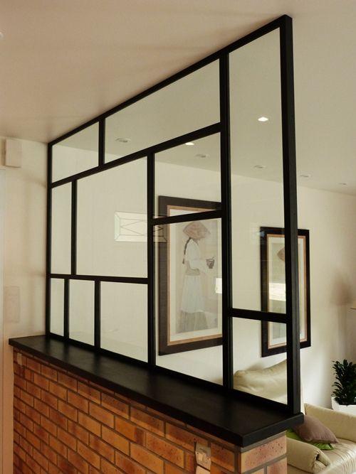 verri re style mondrian acier brut cir chambre pinterest home decor deco et interior design. Black Bedroom Furniture Sets. Home Design Ideas