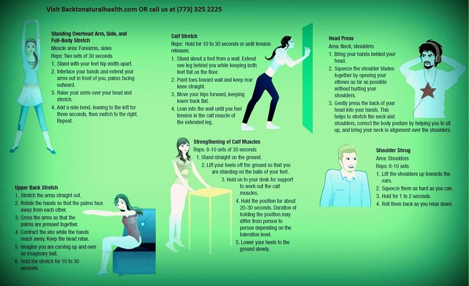 How Chiropractor help us..... Body stretches, Calf