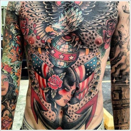 Amazing chest work