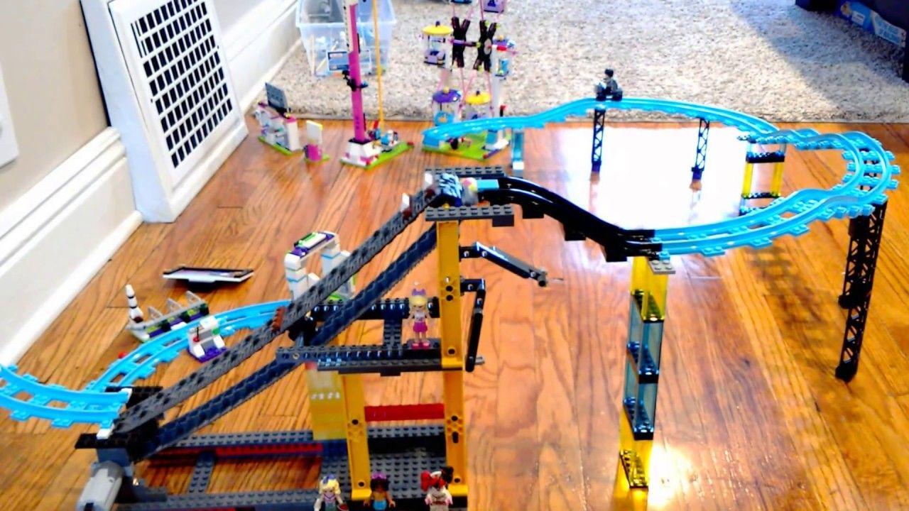 Motorized Lego Friends Roller Coaster - In Progress (Link ...
