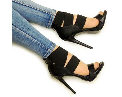 Luksusowe Szpilki Julie Gumka Heels Stiletto Heels Shoes