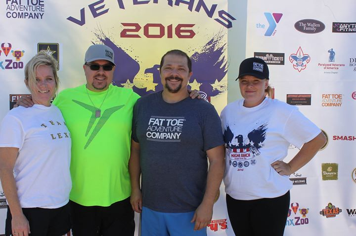 Was great to spend time with the Fat Toe Adventure Team supporting the Veterans Victory Run in Arizona!  #veteransvictoryrun