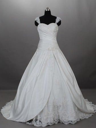 Photo of Designer Lace Ball Gown Wedding Dresses from Darius Bridal