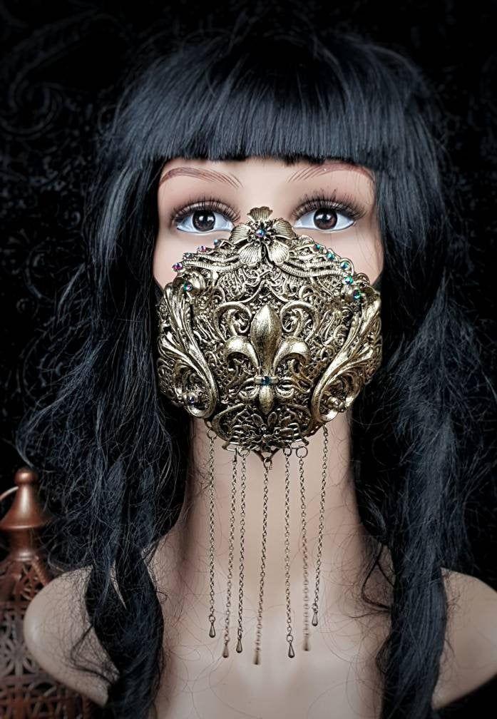 Masken, Jugendstil, To Go, Barock, Gotisch, Fleur-de-lis, Blüten