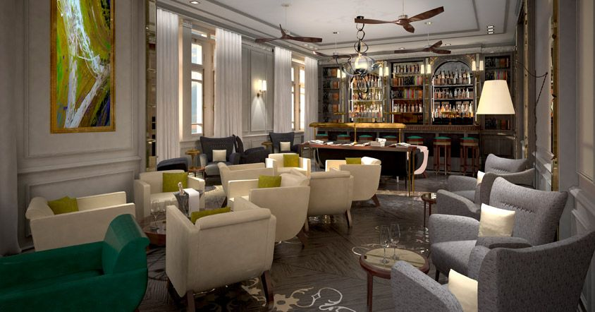 Exclusive Library Bar Elegance Fine Food at The Norman The