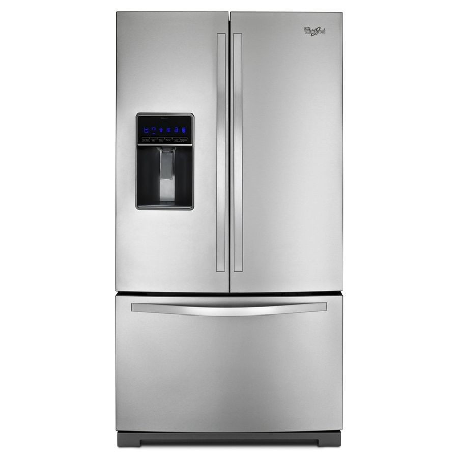 2k Whirlpool 24 7 Cu Ft French Door Refrigerator With Single Ice Maker