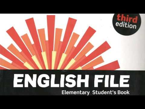 English File Elementary Third Edition Unit 1 1 2 1 14 Youtube Teacher Books Elementary Elementary Books