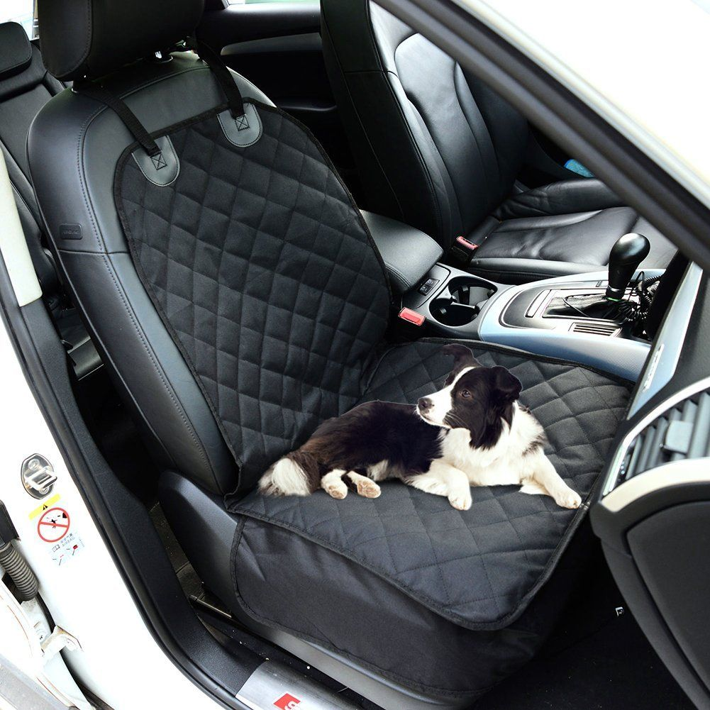 Car Rear Bench Seat Covers With Non Slip Hammock Backing Machine Washable And Waterproof For Pet Dog Cat Boot Mat Learn Dog Car Seat Cover Dog Car Pet Car