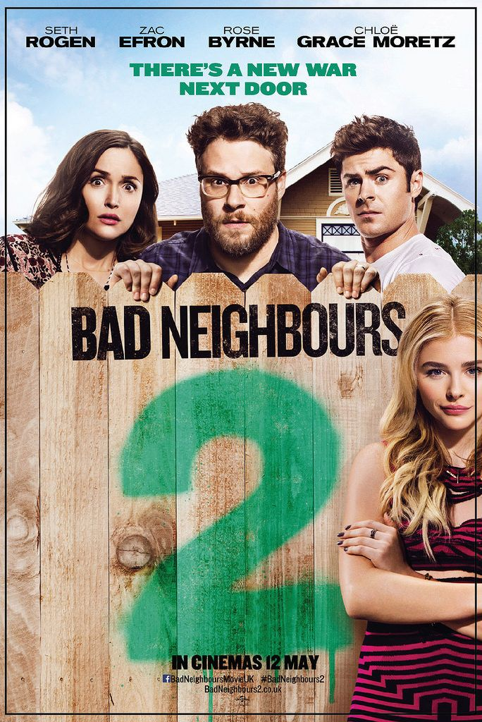 Good Universe Perfect World Pictures Beijing Point Grey Pictures Bad Neighbors Neighbours 2 Funny Movies