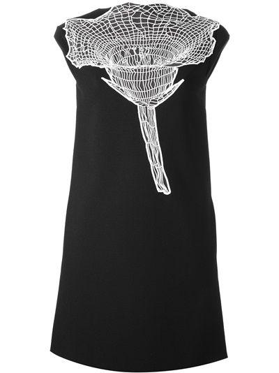 Christopher Kane, Sheer Lace Flower Dress