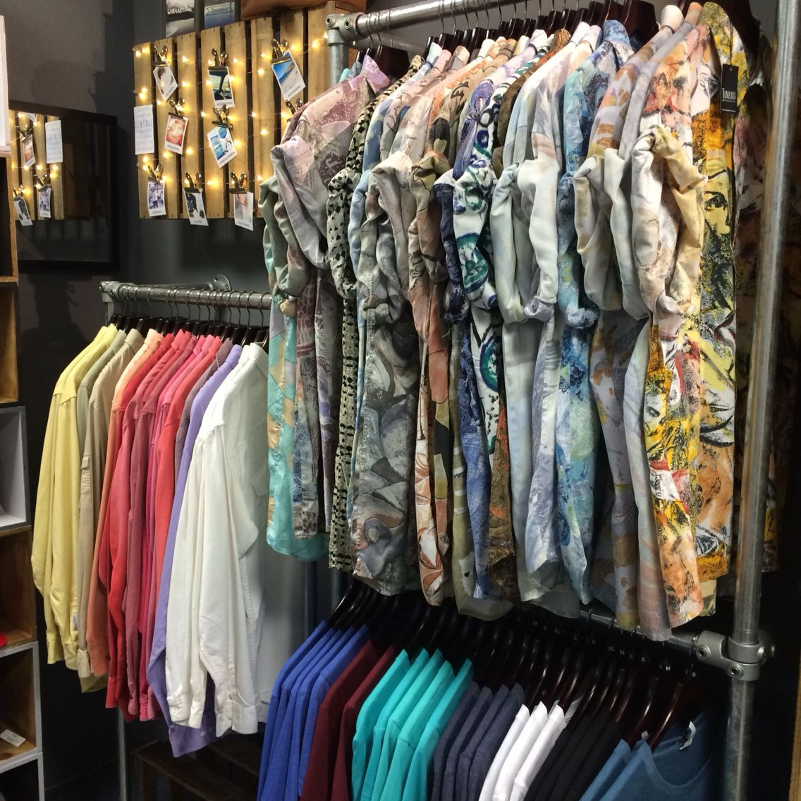 Perfect prints. Vintage Hawaiian shirts in stock at Rex now