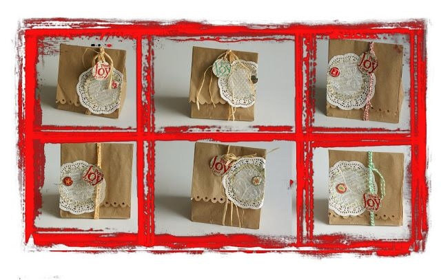 Papieren Avonturen: kado's inpakken wrapping presents