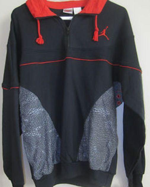 d33de0173472 AJ 3 - Black colour range Warm up sweatsuit 1988 Grey tag ...
