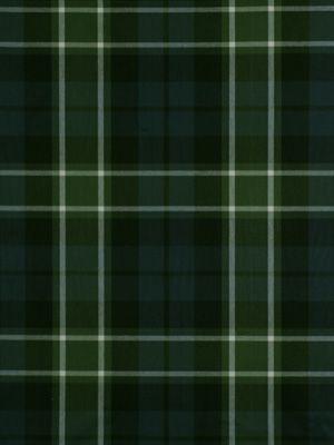 Robert Allen Fabric - Plaid Glen - Navy Green - Our Price $1675