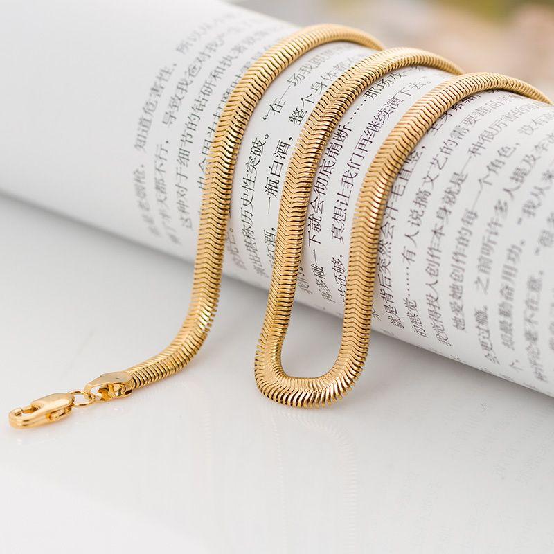 Fantasy-jewelry-new-designer-omega-snake-gold-chain-for-men-women ...