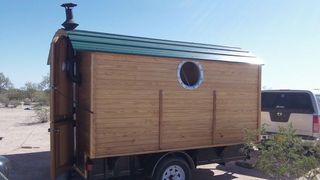 Gypsy Wagon Building #gypsysetup