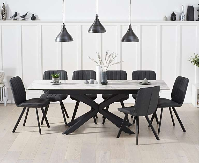 39++ Modern extendable dining table and chairs Trend