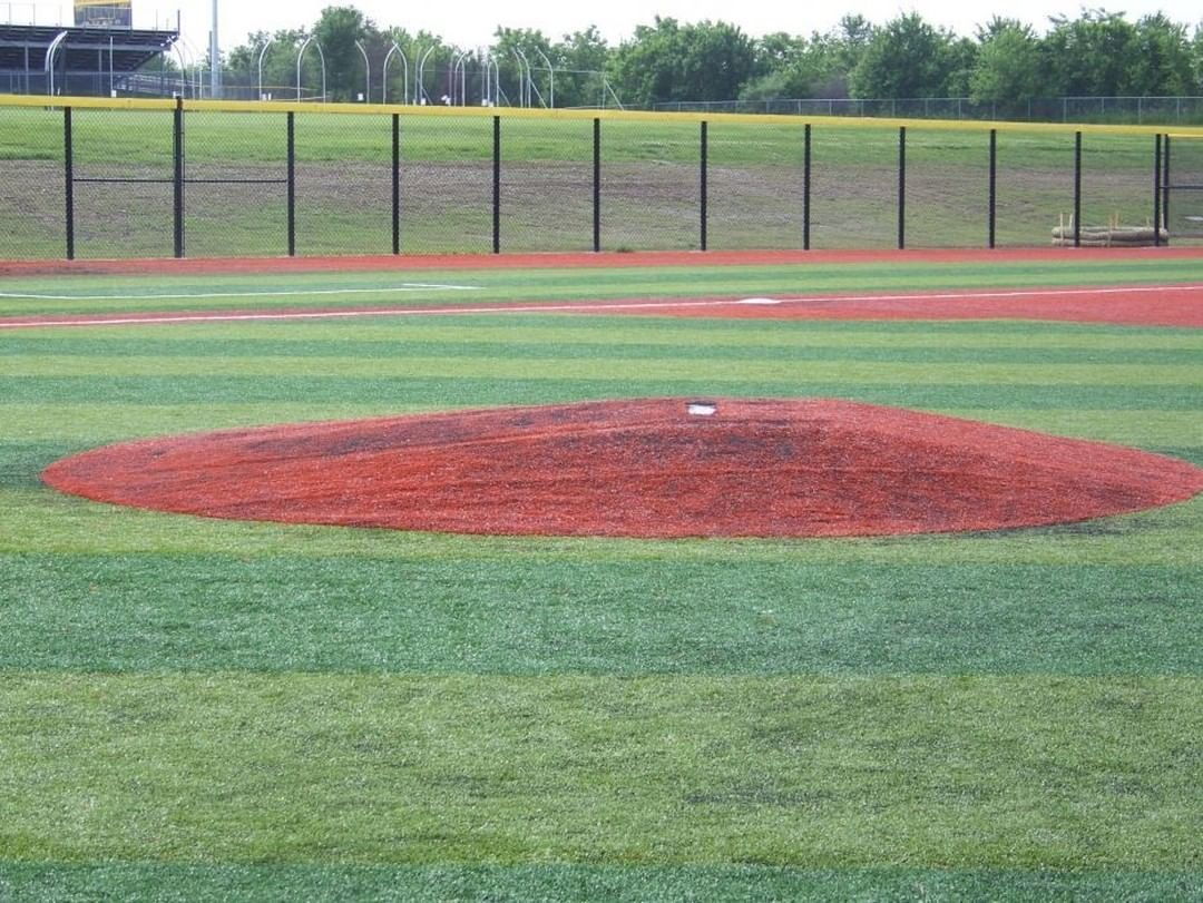 Turf Mound Or Dirt Mound Truepitchmounds In 2020 Turf Train System Baseball Field
