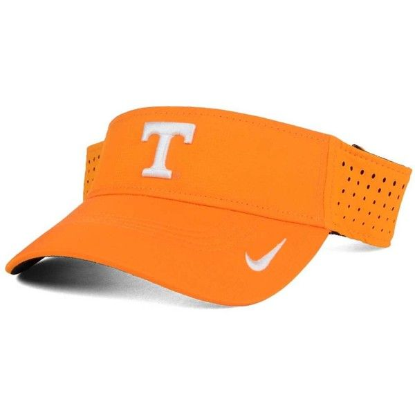 Nike Tennessee Volunteers Dri-fit Vapor Visor ($26) ❤ liked on Polyvore  featuring