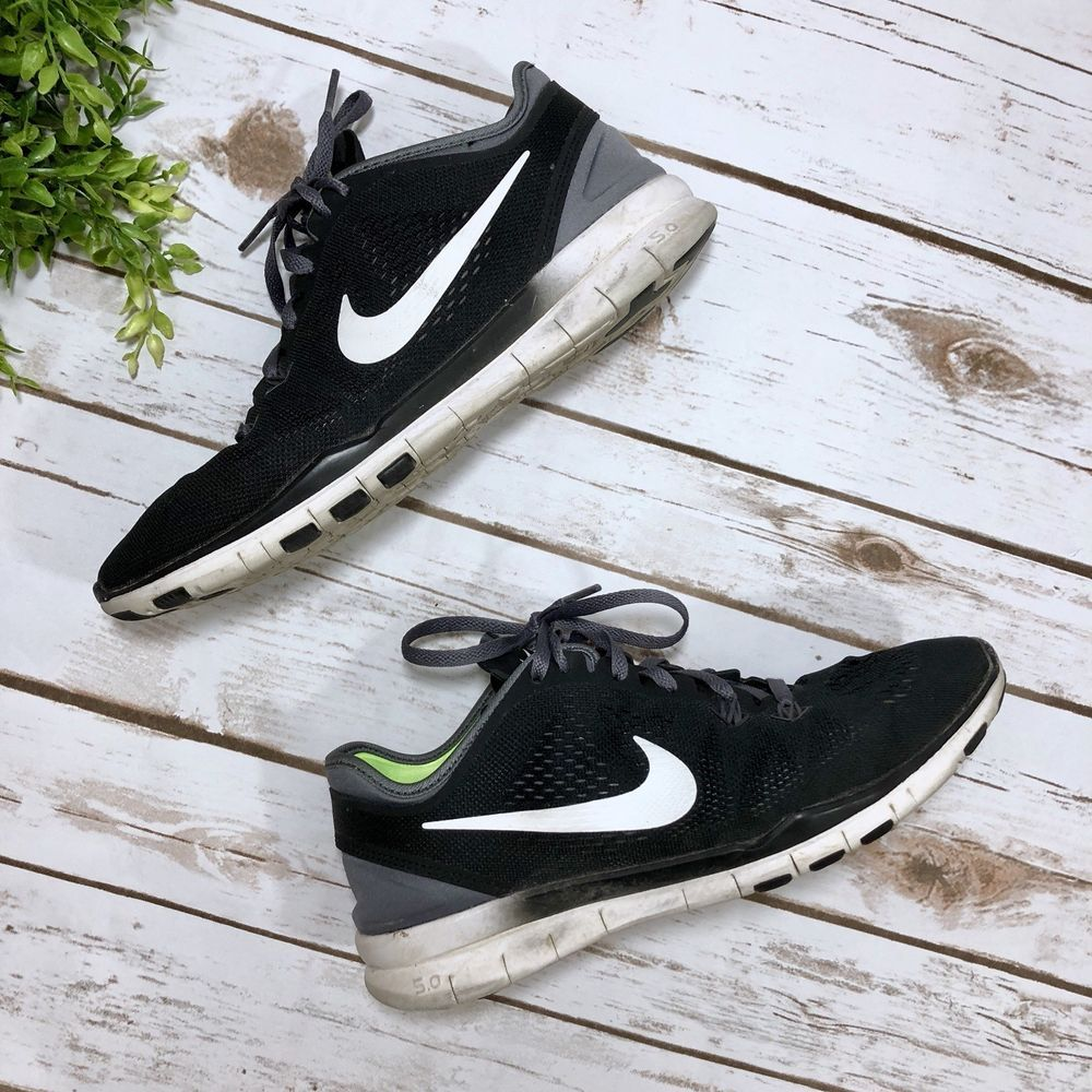7b78530c478fe Nike Free TR FIT 5 Womens Training Black and White Sneakers  fashion   clothing  shoes  accessories  womensshoes  athleticshoes (ebay link)