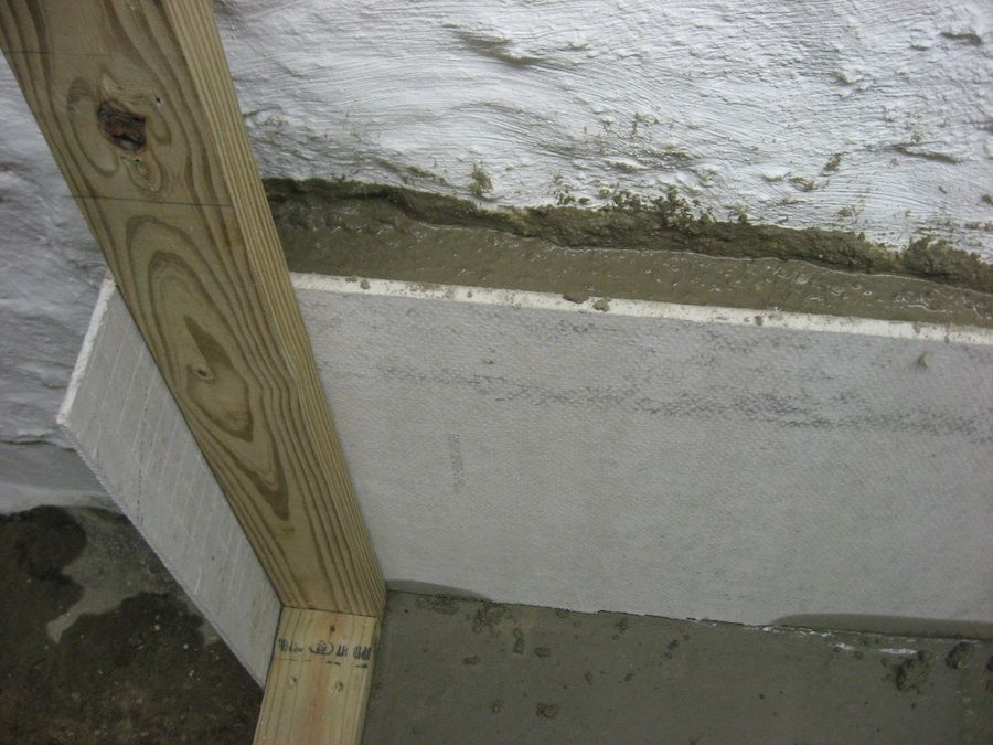 What About A 100 Year Old Basement Old Basement Knee Wall Basement